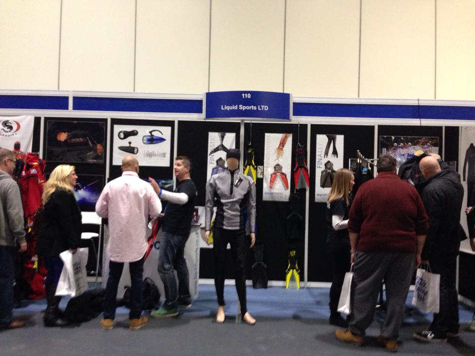 Great reaction to showcase our brands sharkskin, Ursuit, bigblue and aquabionic